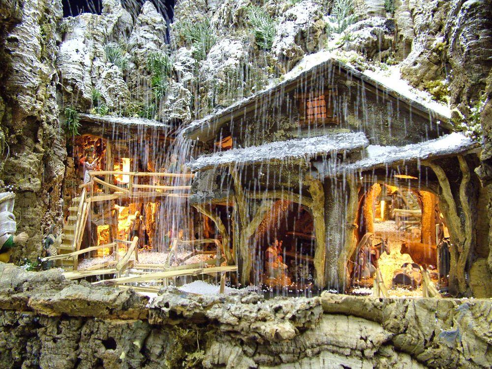Affordable presepi con neve with foto presepi - Presepi fatti in casa ...